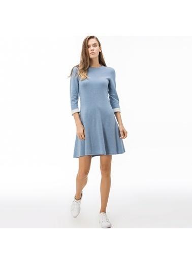 Lacoste Kadın Kaşmir Elbise EF1930.30A Mavi